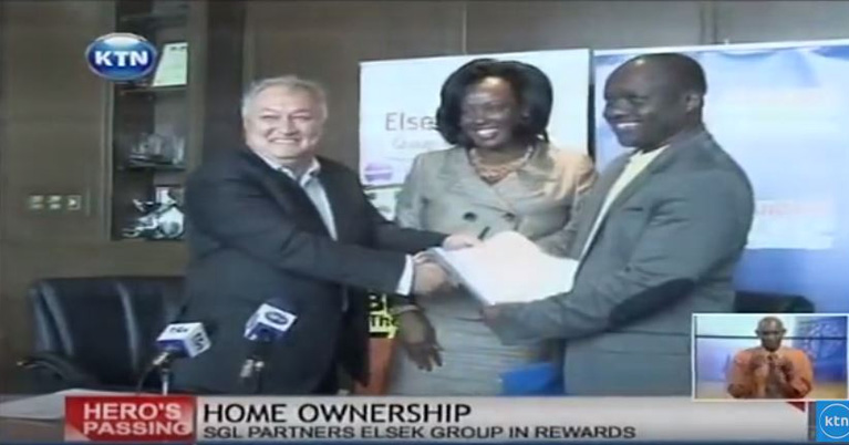 6 Kenyan families to get free homes courtesy of Elsek Company and Standard Group